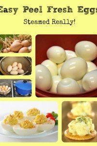 Easy Peel Hardboiled Fresh Eggs