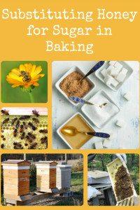 Substituting Honey for Sugar in Baking
