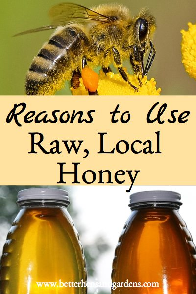 Buy raw, local honey to benefit from it's many healthful properties.