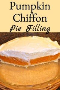 Pumpkin Chiffon Pie Filling