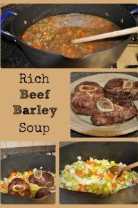 Rich Beef Barley Soup