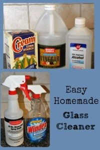 Easy Homemade Glass Cleaner