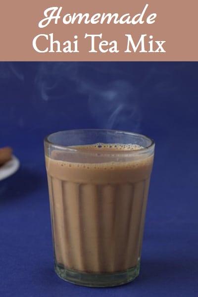 homemade chai tea mix
