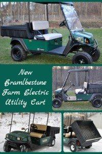 New Electric Farm Utility Vehicle