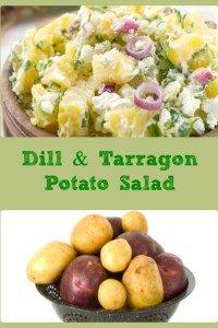 Dill & Tarragon Potato Salad