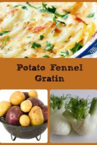 Potato Fennel Gratin