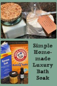 DIY Gift Idea – Luxury Bath Soak