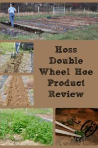 Hoss Wheel Hoe Product Review