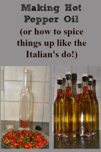 Making Hot Pepper Oil