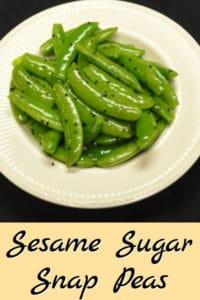 Sesame Sugar Snap Peas