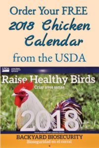 Hot To Get A FREE 2018 Chicken Calendar
