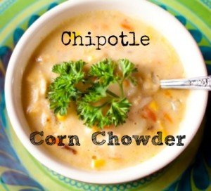 Chipotle Corn Chowder via Better Hens and Gardens