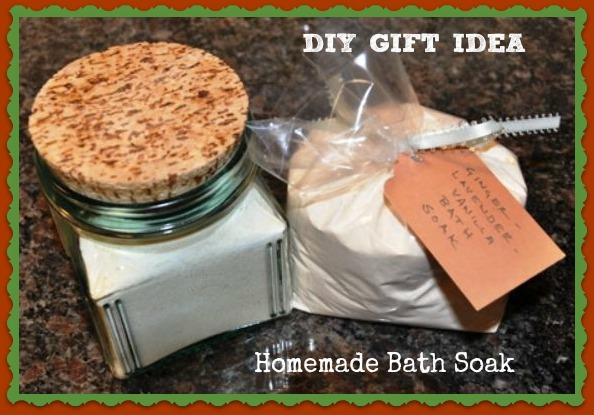 DIY Gift Bath Soak via Better Hens and Gardens