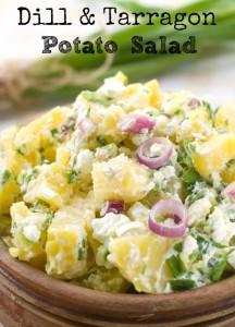Dill & Tarragon Potato Salad via Better Hens and Gardens