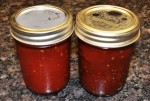 Finished Tomato Jam