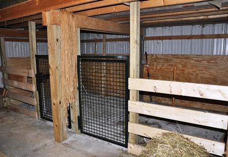 Under Loft Stalls Start