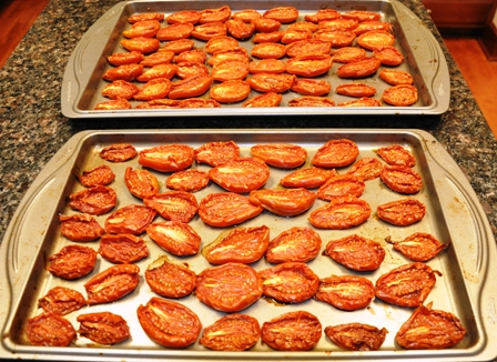 Homemade Sun Dried Tomatoes (really oven dried)