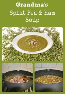 Split Pea & Ham Soup via Better Hens and Gardens