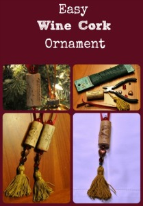 Easy Wine Cork Ornament via Better Hens and Gardens