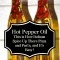 Homemade Hot Pepper Oil